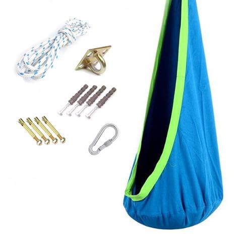Viking Choice Cocoon hangstoel - hangmat blauw -tot 80 kg