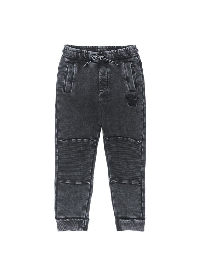 Broek Acid Wash - Popcorn Power Antraciet