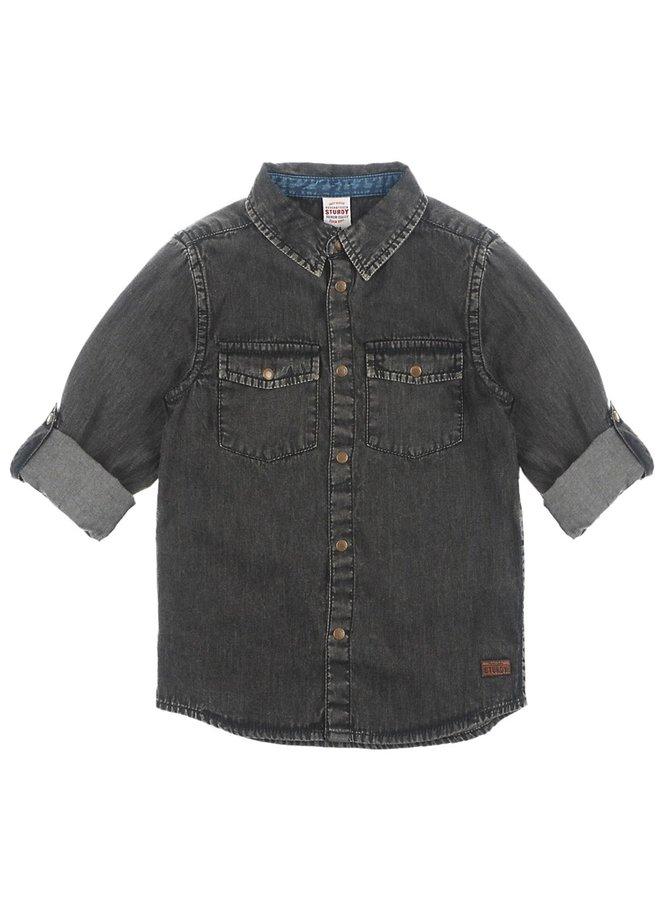 Overhemd - Winter Denims Black Denim
