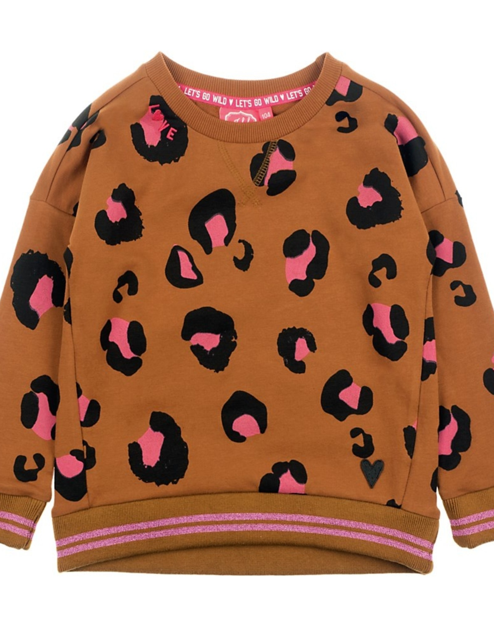 Sweater AOP - Animal Attitude Bruin