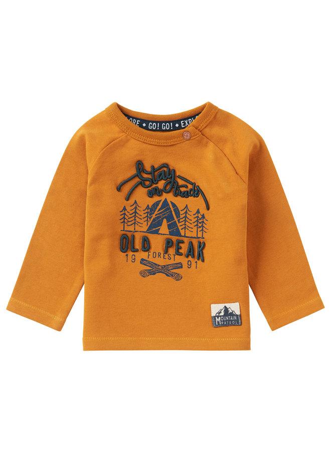 B T-Shirt LS ElliotInca Gold