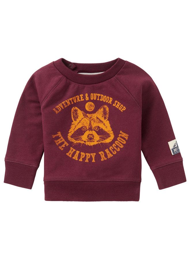 B Sweater LS VredendalDusty Red