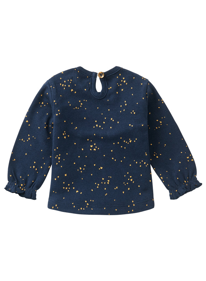 G Regular T-Shirt LS Colesberg AOPBlack Iris