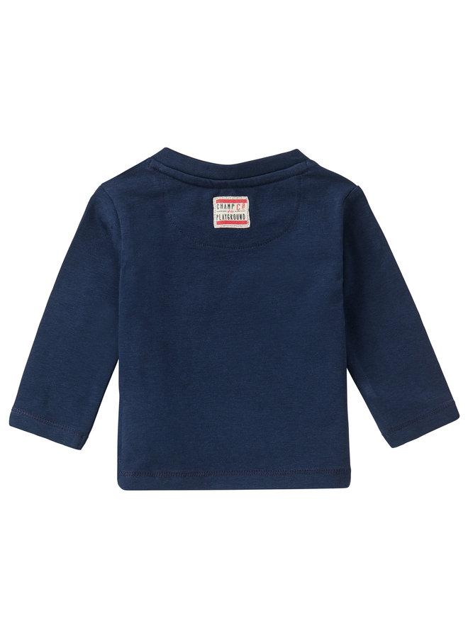 B T-Shirt LS CeresPeacoat