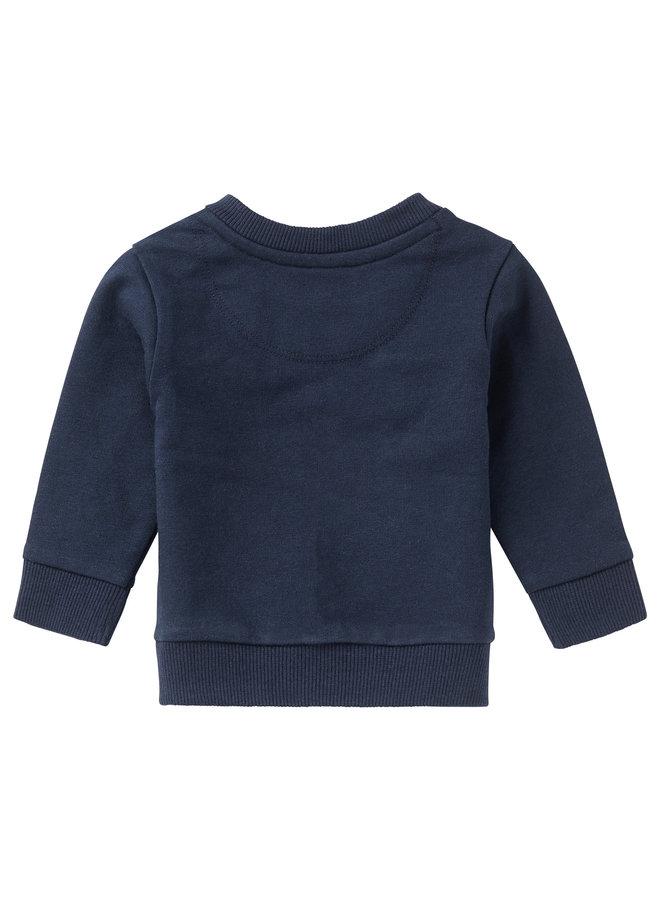 B Sweater LS CollinsvillePeacoat