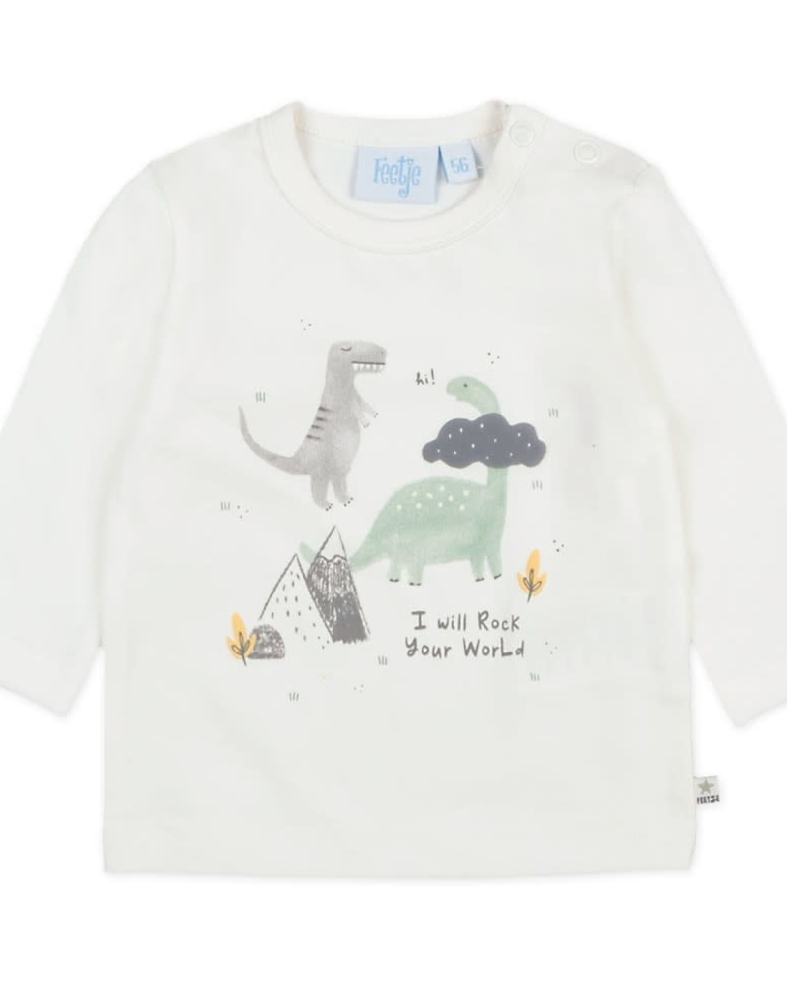 Longsleeve I Will - Dino Offwhite