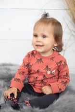 Sweater AOP - Zebra Brique maat 86