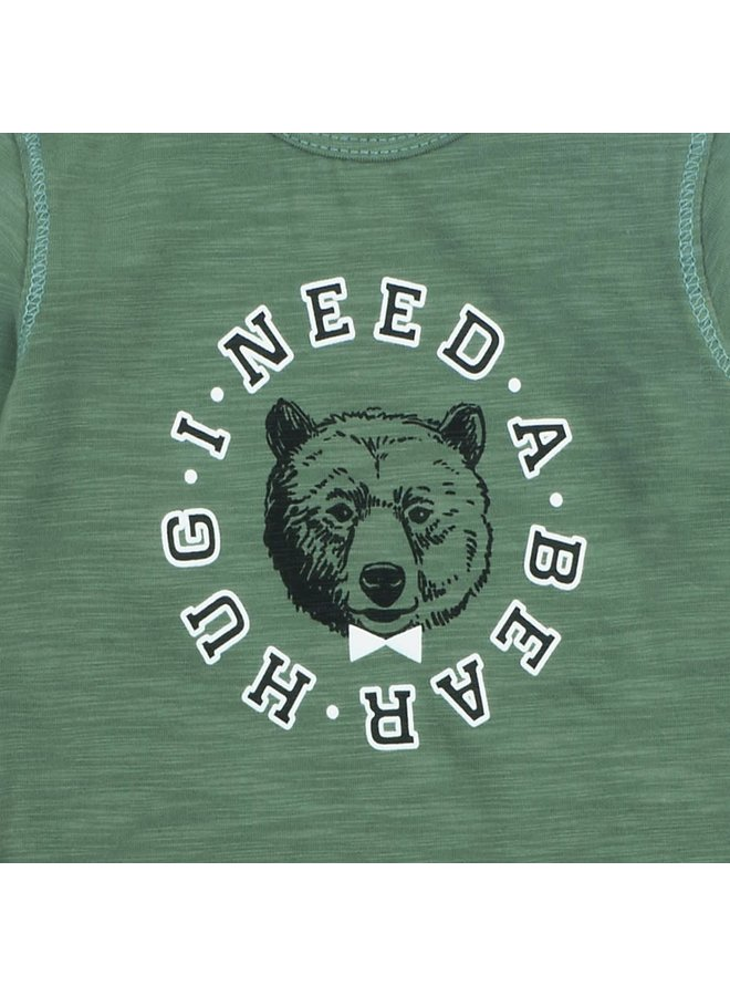 Longsleeve I Need - Bear Hugs Army