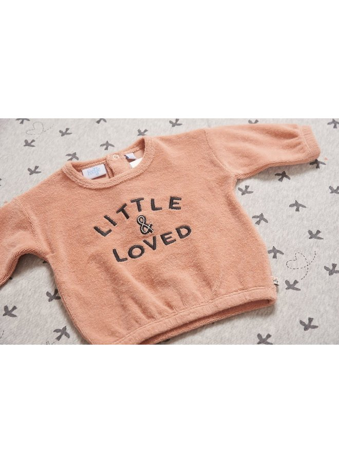 Sweater - Little and Loved Roze