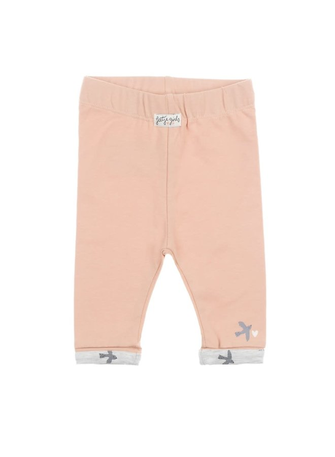 Legging - Little and Loved Roze maat 80
