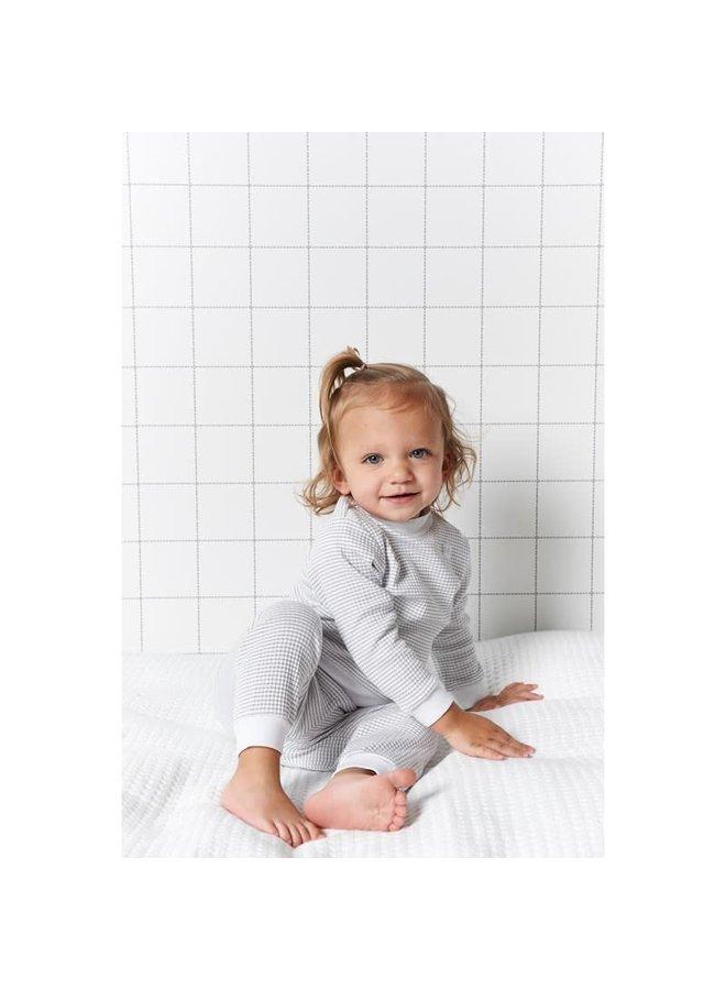 Pyjama wafel Grijs