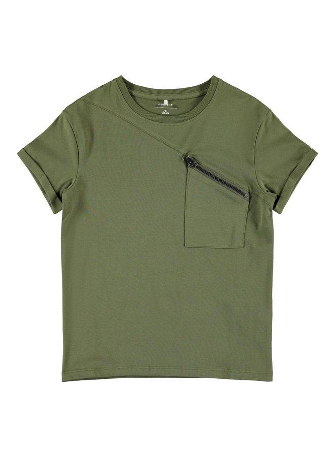 Name-it hinkas shirt groen