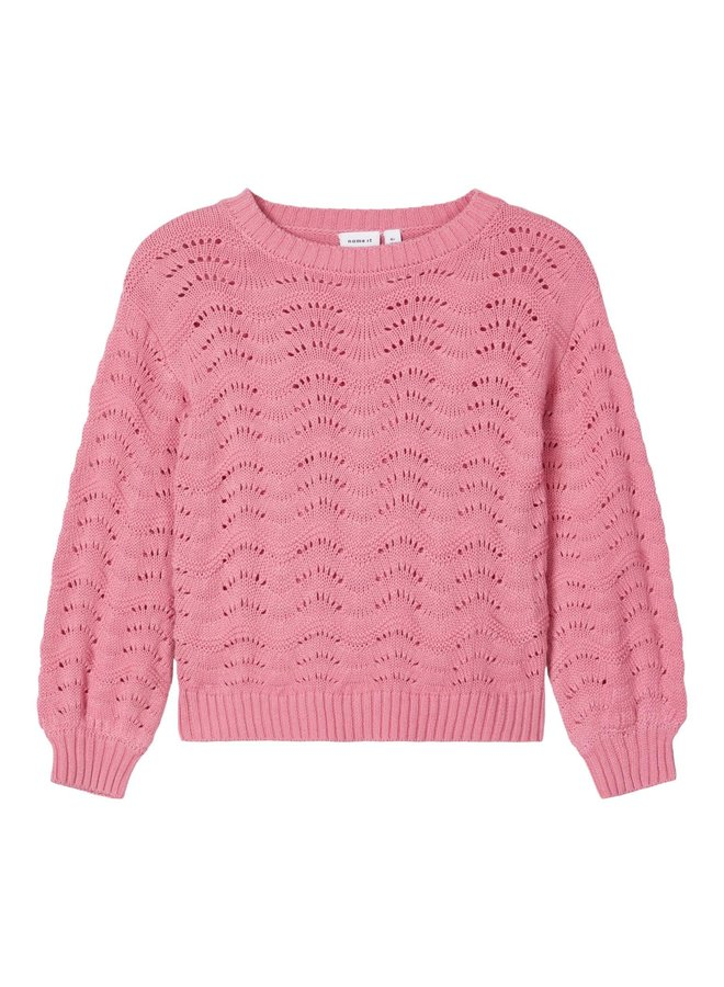 NMFNISIA LS KNIT Wild Rose