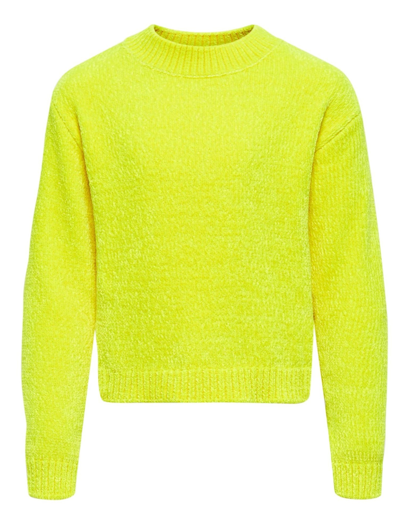 KONANCIA L/S SHORT PULLOVER KNT Safety Yellow