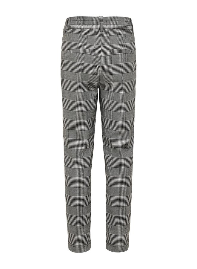 KONPOPTRASH SOFT CHECK PANT NOOS Medium Grey Melange CHECKS