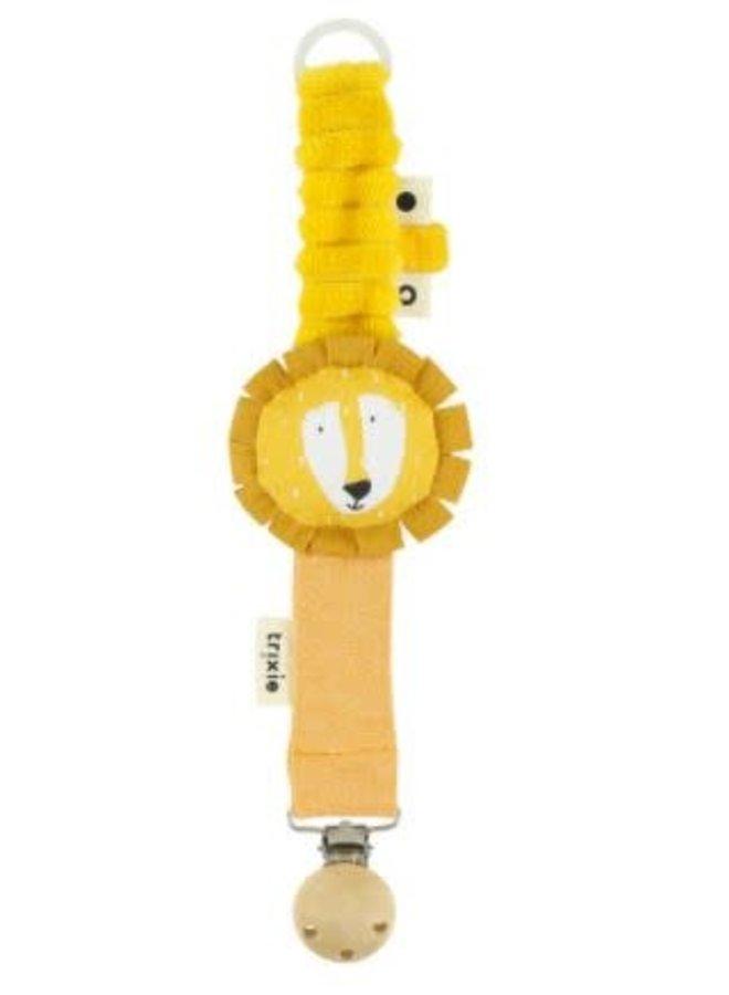 Pacifier clip- Mr.Lion