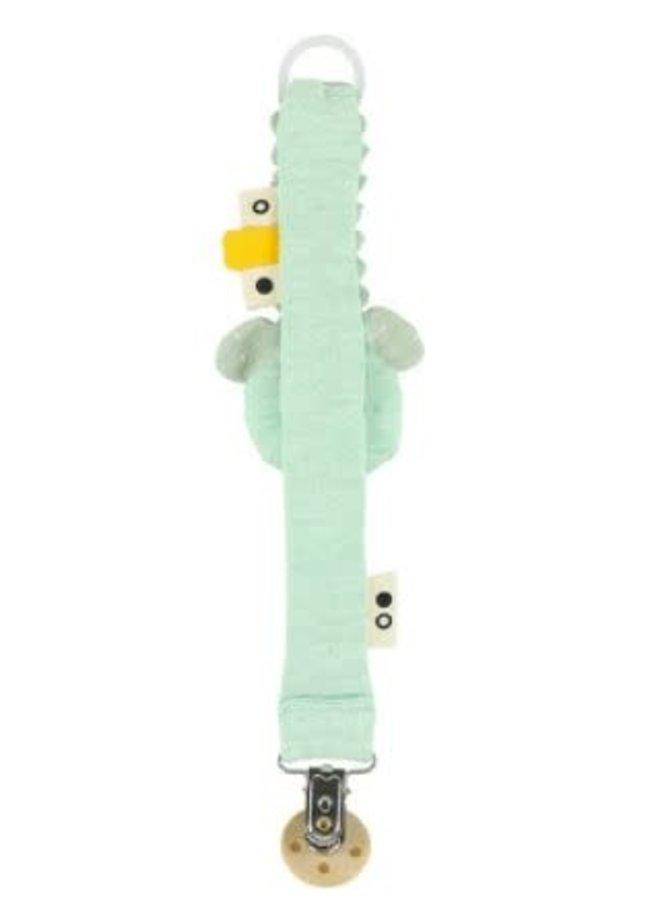 Pacifier clip- Mr. Polar Bear