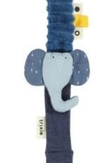 Pacifier clip- Mrs. Elephant