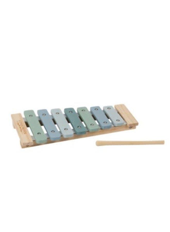 Little Dutch houten Xylofoon blue
