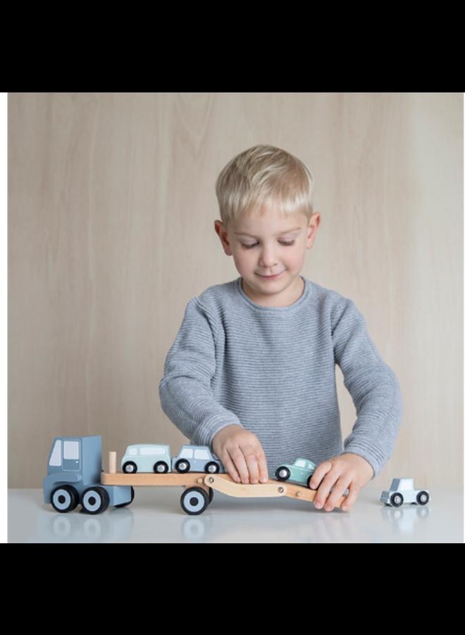 Little Dutch transportwagen blue
