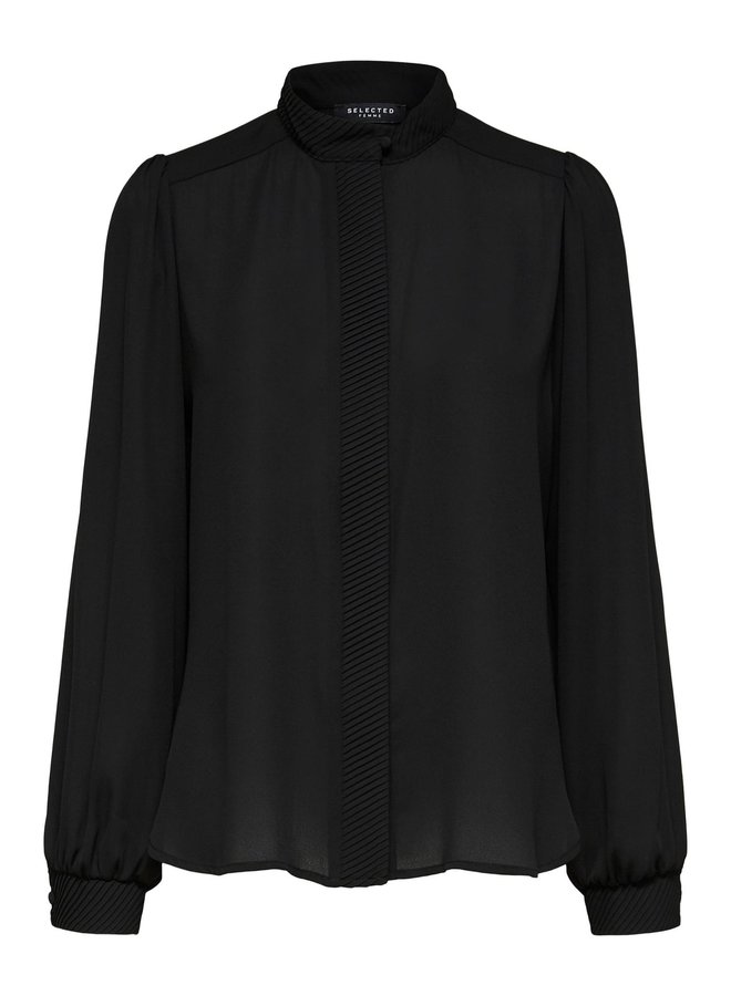 SLFAMAYA LS SHIRT B Black