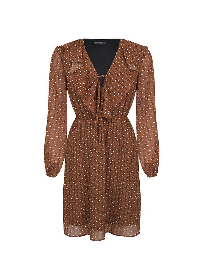Dress Giorgia brown