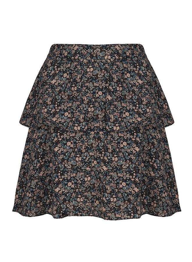 Skirt Zoleste blue - brown Blue