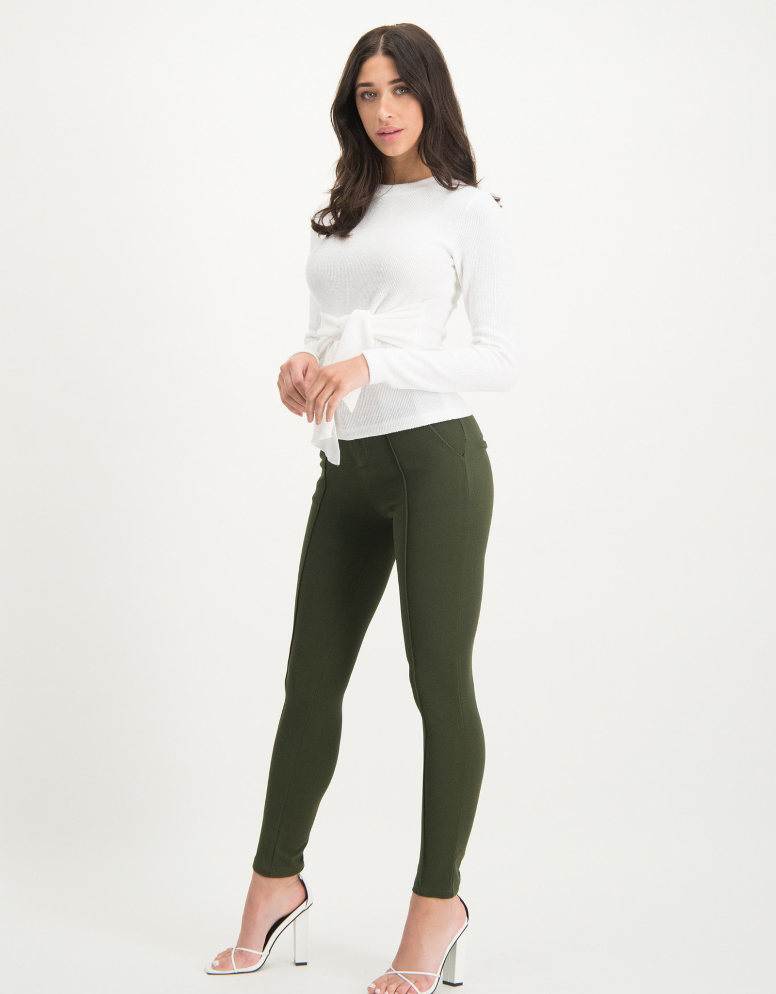 Trouser Vana green maat M