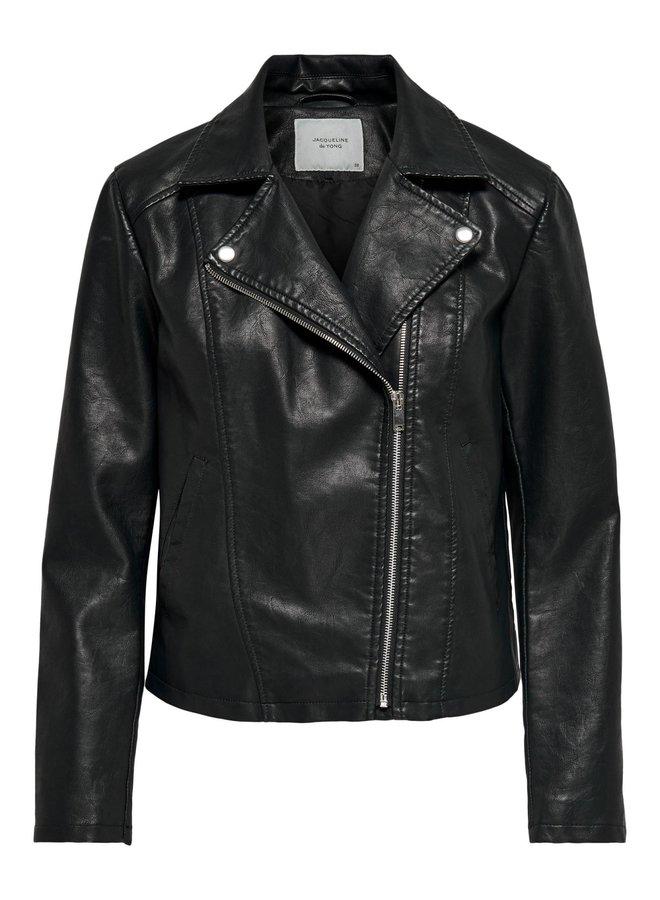 JDY Simba leather jacket