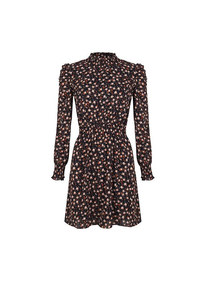 Dress Fani black - orange