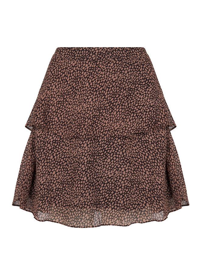 Skirt Zoleste pink - brown