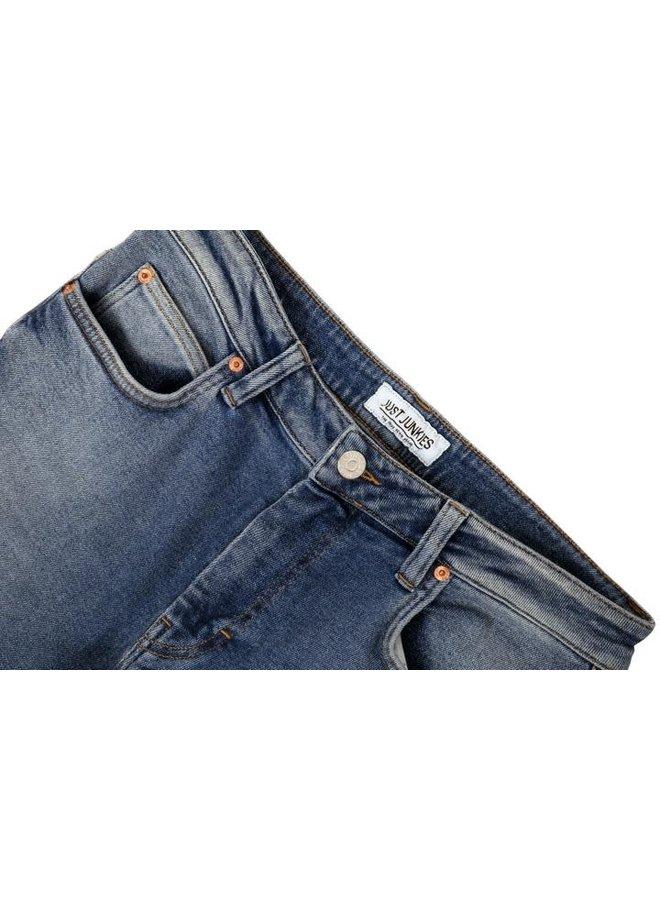 Just Junkies Empty Blue Plain Jeans