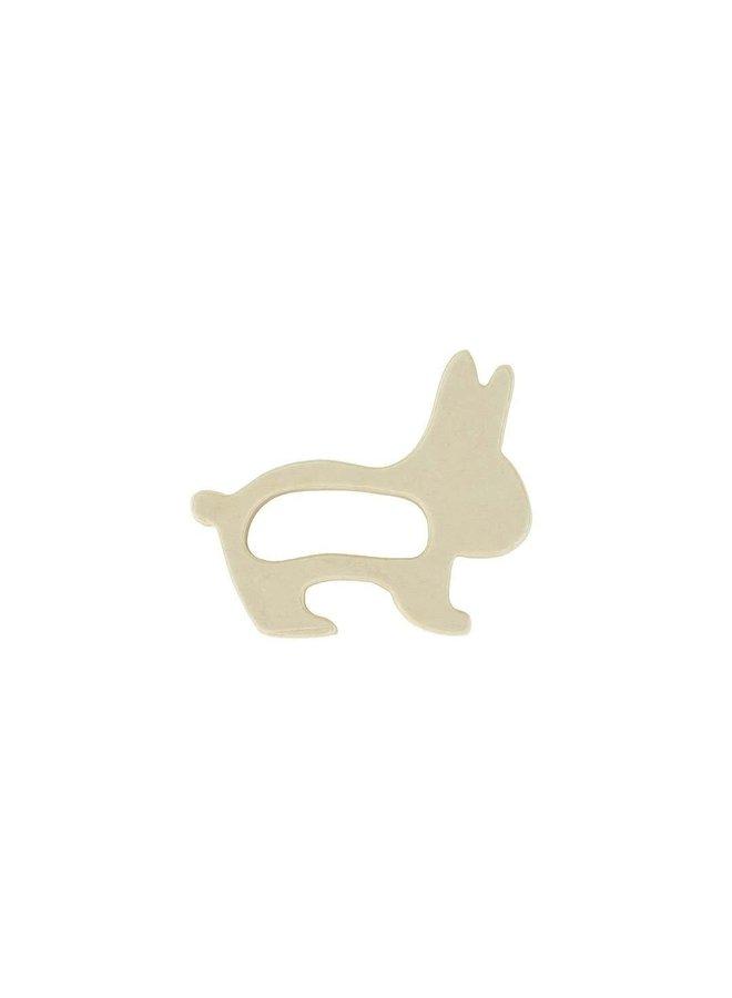 Bijtring hout Rabbit