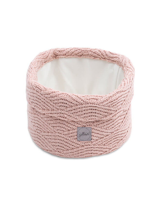 Mandje River knit pale pink