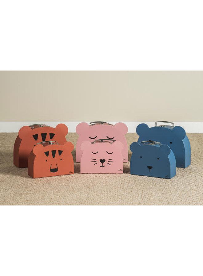 Speelkoffertje Animal club rust (2pack)