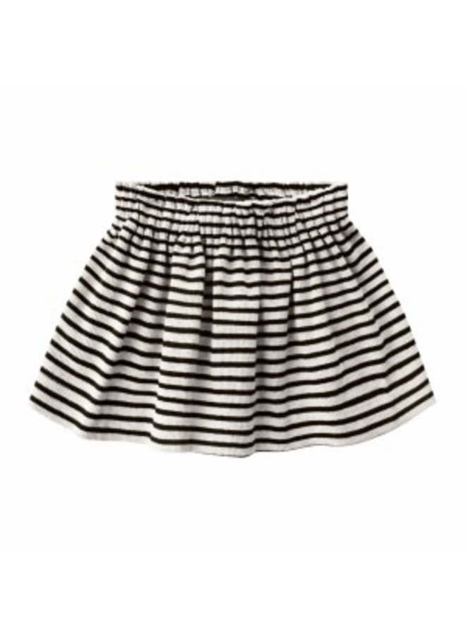 Beige - Stripes | Skirt Chalk