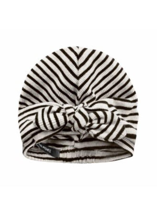 Beige - Stripes | Turban Chalk