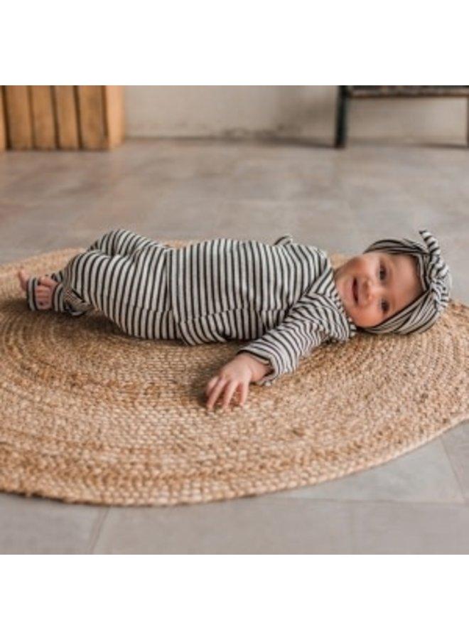 Beige - Stripes | Turban Chalk 1-4 jaar