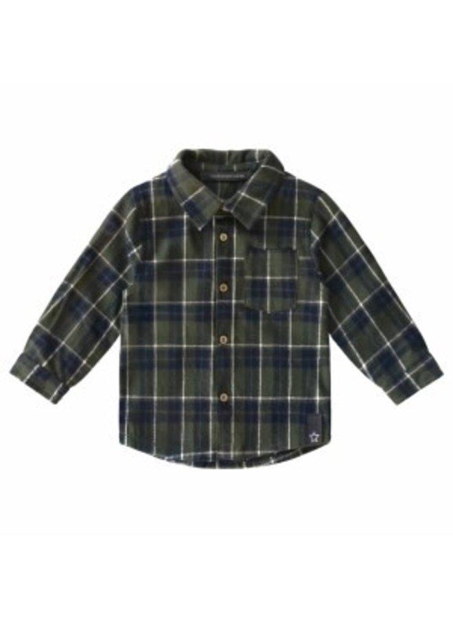 Checks Shirt maat 110/116