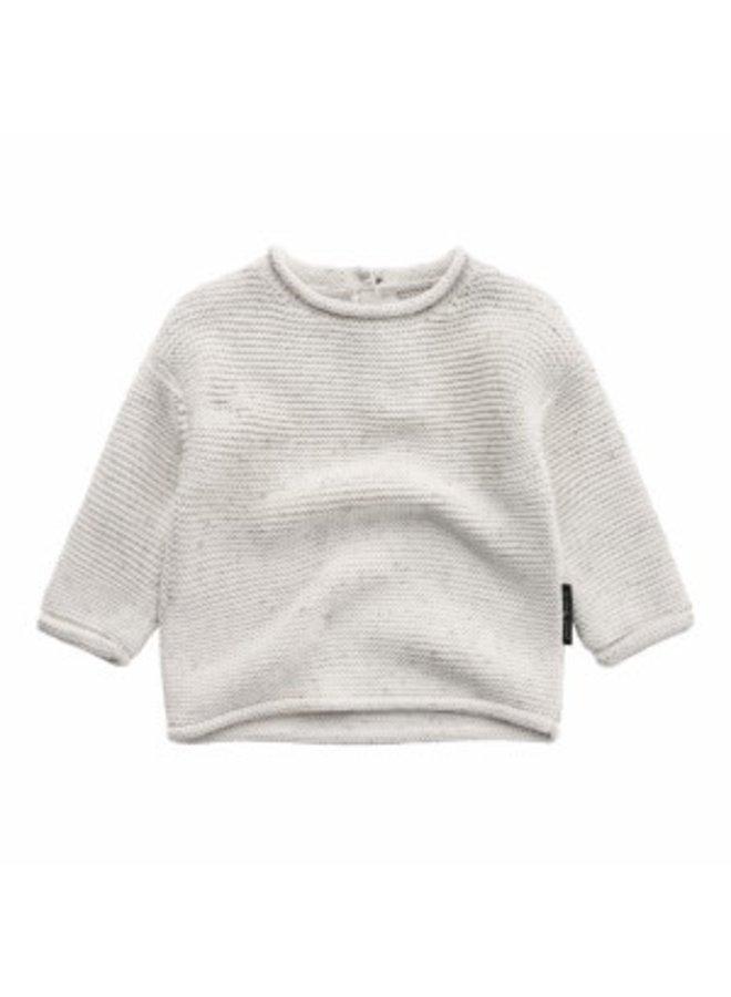 Knit | Boxy Sweater Chalk