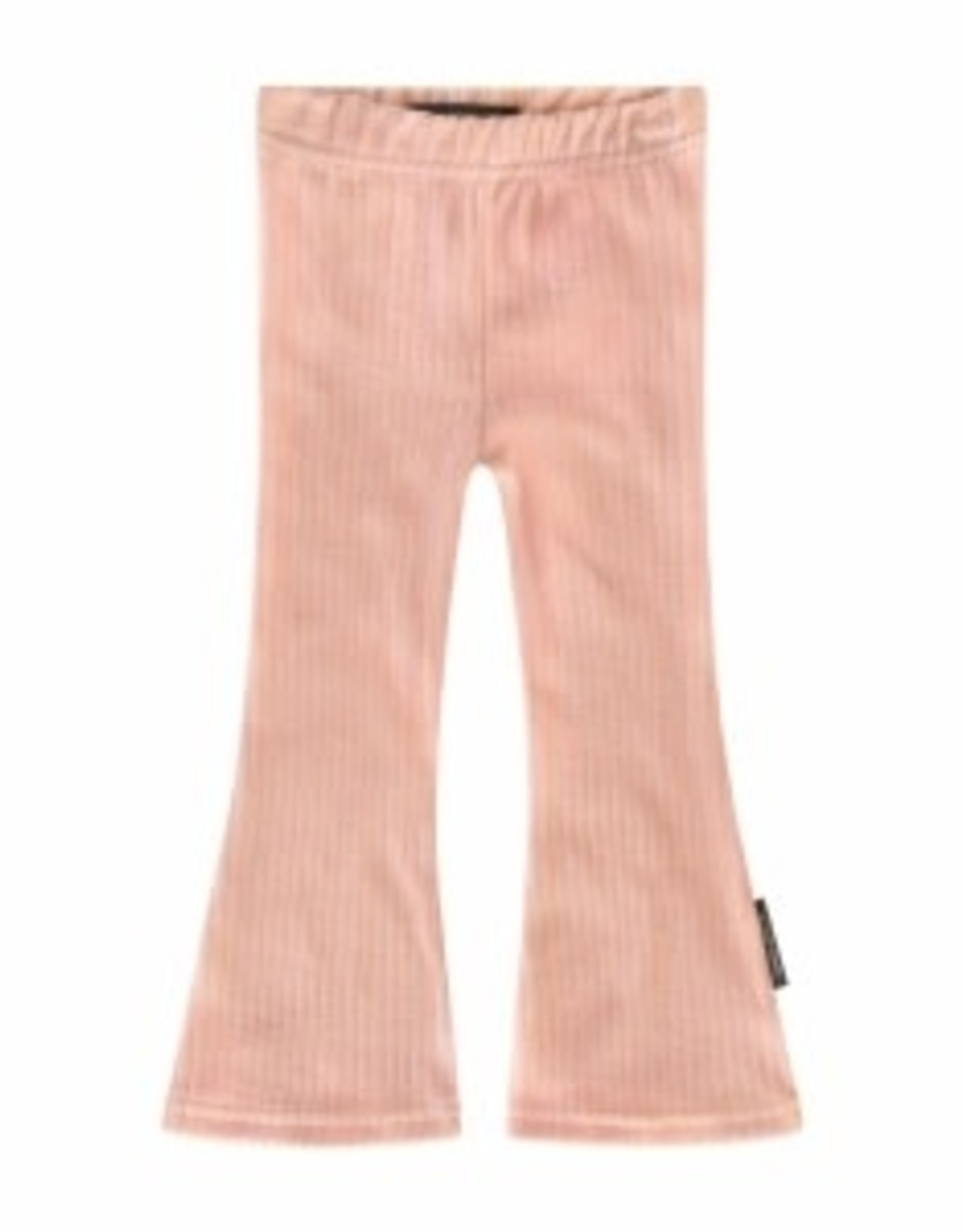 Rib | Flared Legging Old Pink maat 86/92