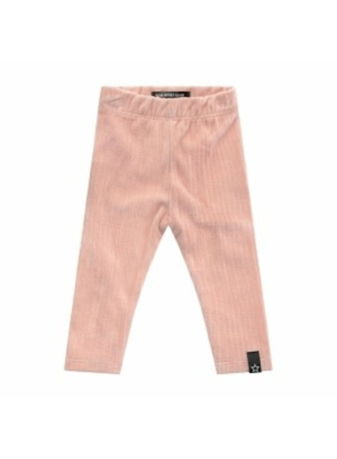 Rib | Legging Old Pink