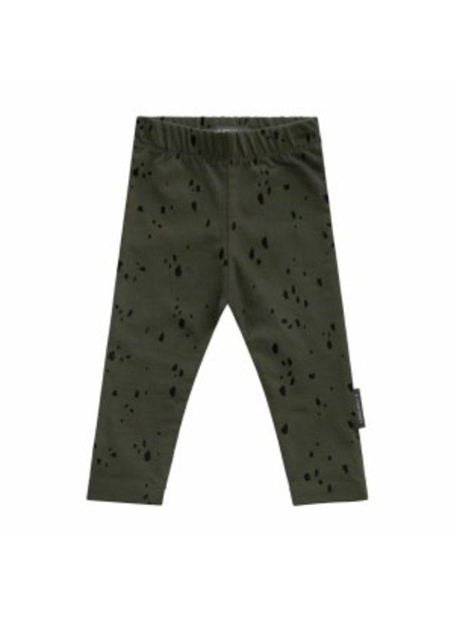 Splatters | Legging Desk Green
