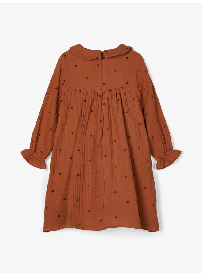 NMFELVIRA LS DRESS LILGinger Bread