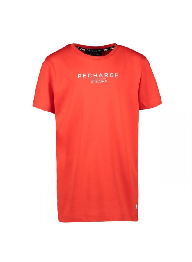 Cars Recharge tee red