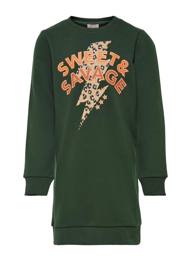KONROLLO LIFE L/S O-NECK DRESS CS SWT Rosin SWEET AND SAVAGE