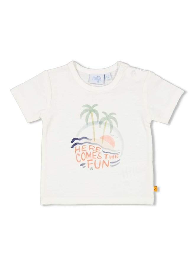 T-shirt - Here Comes The Fun Wit