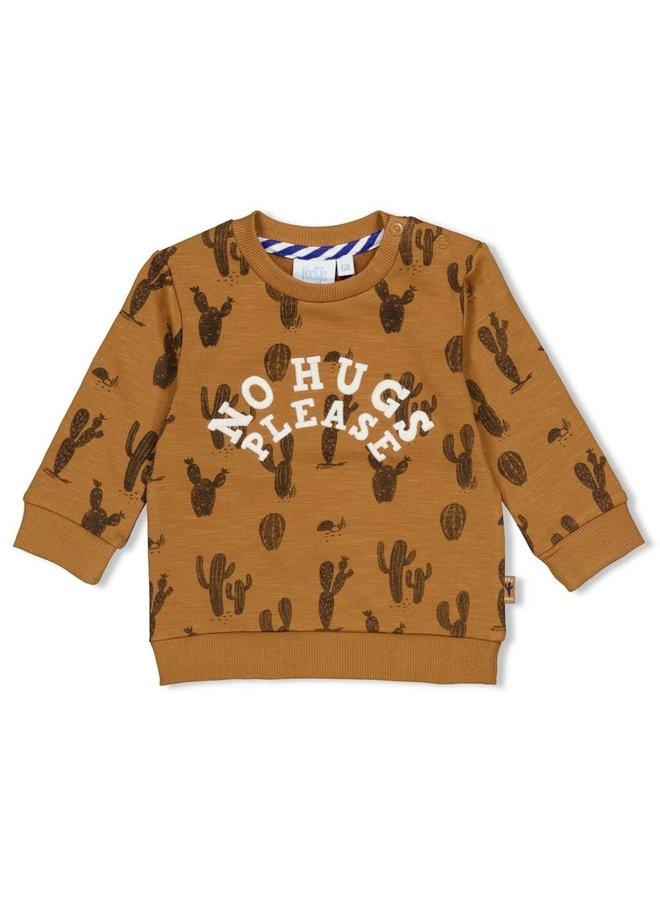 Sweater AOP - Looking Sharp Camel