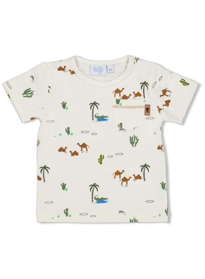 shirt AOP - Looking Sharp Offwhite