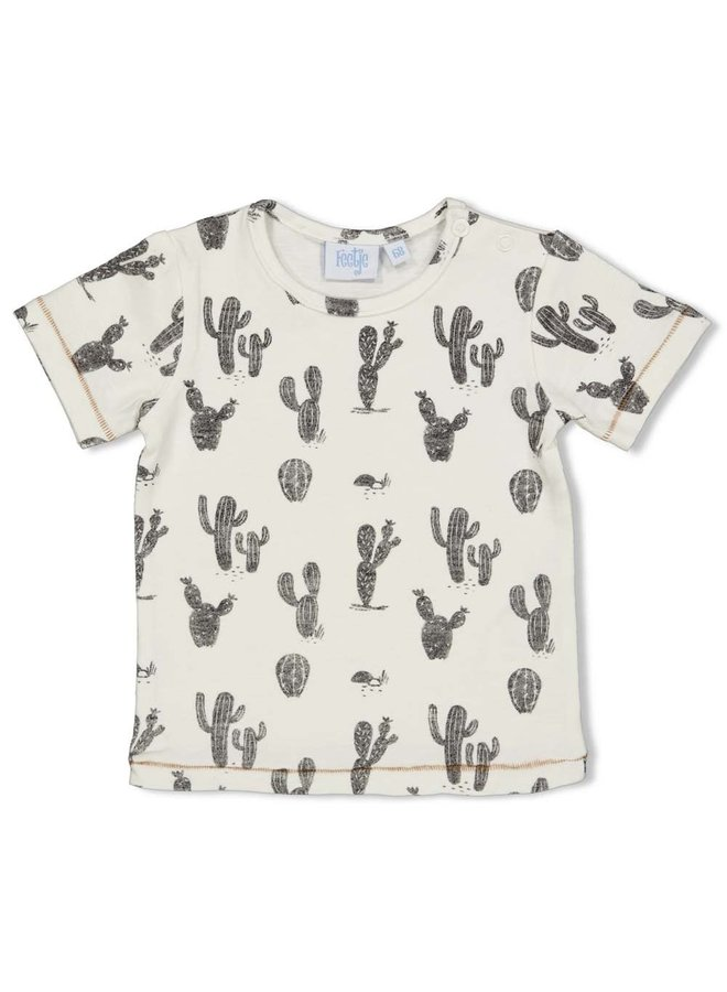 T-shirt AOP - Looking Sharp Offwhite